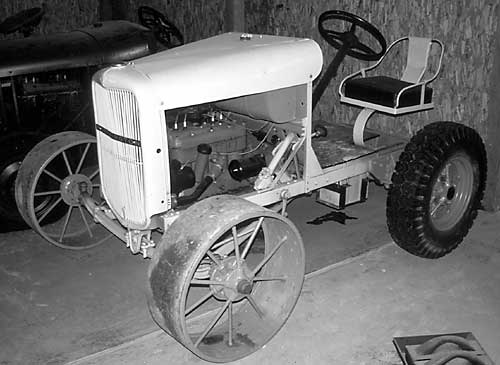 Old tractor from Museum