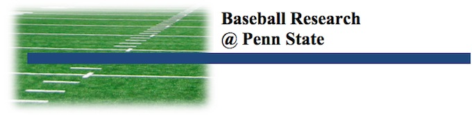 Baseball Research @ Penn State