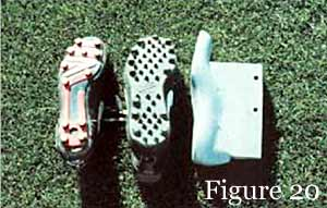 different athletic footwear