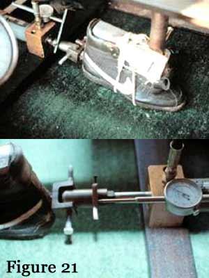 single pulling piston