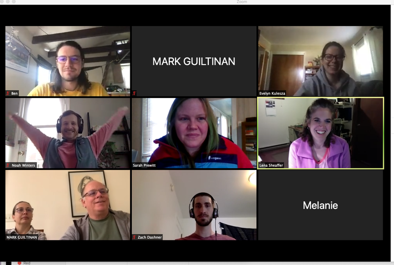 Lab Meeting May 5th, 2020 on Zoom