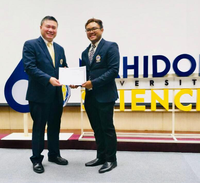 2018 Khwan receives award