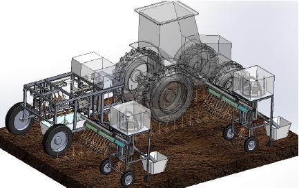 Root robot tractor