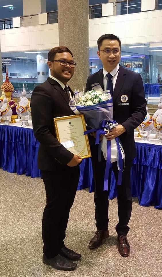Khwan award_flowers