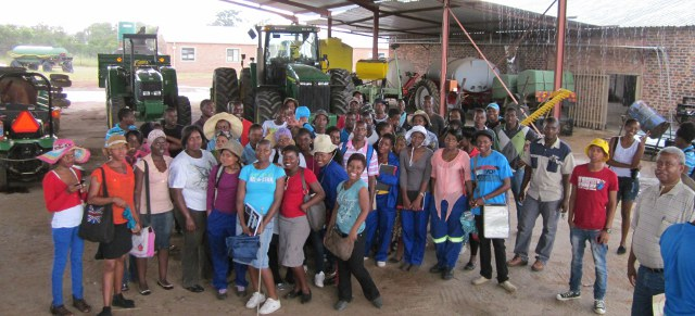 U of Limpopo students group photo
