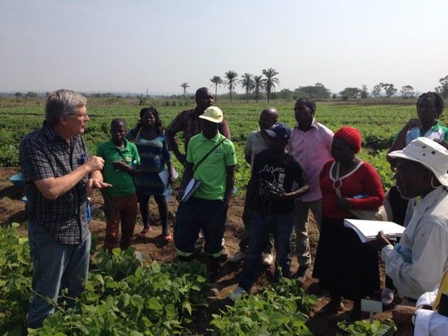 Genetics workshop, Mozambique
