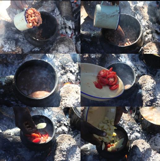 Bean stew step-by-step