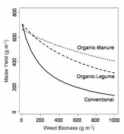 Weed Densities Graph